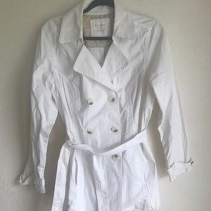 White trench by sonoma size large